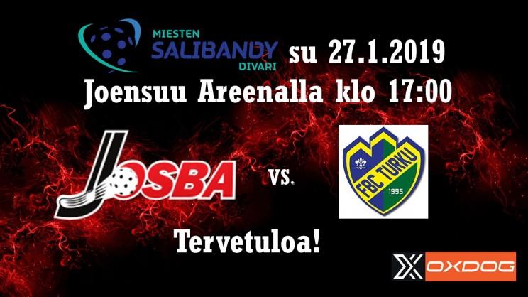 Josba FBC Turku mainos