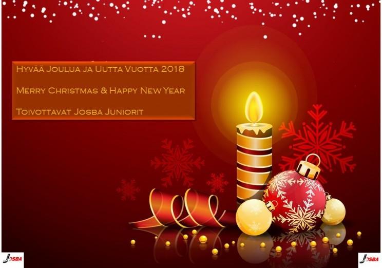 Hyvää Joulua ja Uutta Vuotta 2018!
